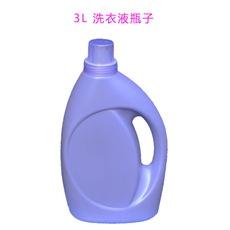 3L洗衣液瓶 本厂有洗衣液空瓶和标签销售